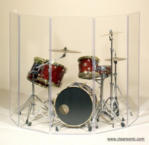 Clearsonic A5-5 Drum Screen