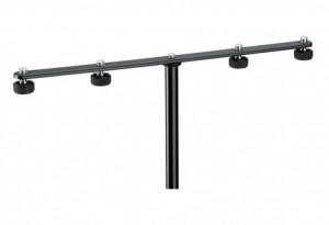 K & M 236 Microphone Mounting Bar 4 Way
