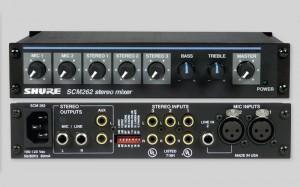 Shure SCM262 Mixer